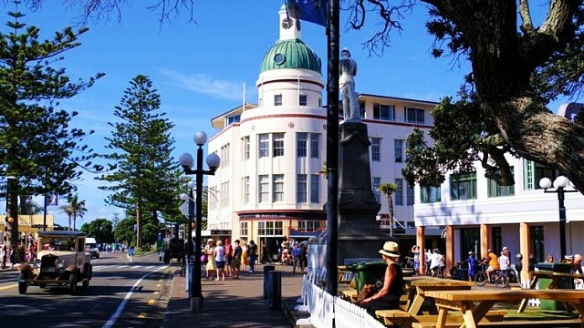 Where to Stay in Napier - Napier city centre
