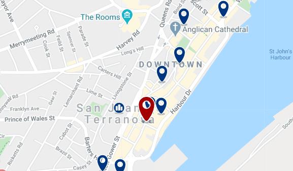 Alojamiento en Downtown St. John's - Haz clic para ver todo el alojamiento disponible en esta zona