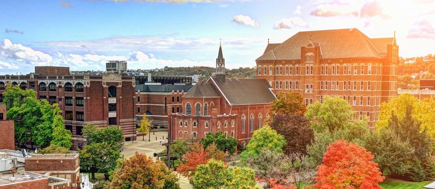 Best areas to stay in Pittsburgh, Pensilvania - Uptown (Cerca de la Universidad de Duquesne)